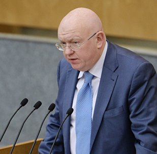 Krievijas pastāvīgais pārstāvis ANO Vasilijs Nebenzja