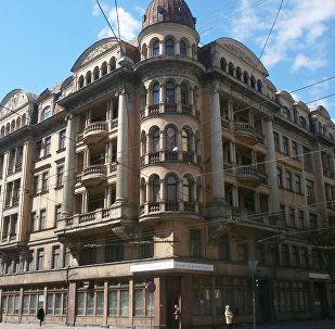 Stūra māja Rīgā
