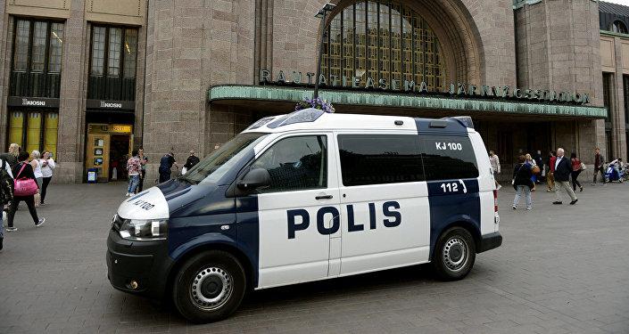 Somijas policija. Foto no arhīva