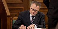 Министр экономики Латвии Арвилс Ашераденс