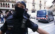 Katalonijas policisti