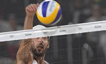 Итальянский спортсмен Даниэле Лупо, пляжный волейбол