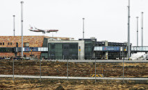 Аэропорт Кеблавик в Исландии, архивное фото