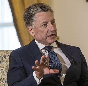 Спецпредставитель США по Украине Курт Волкер, архивное фото