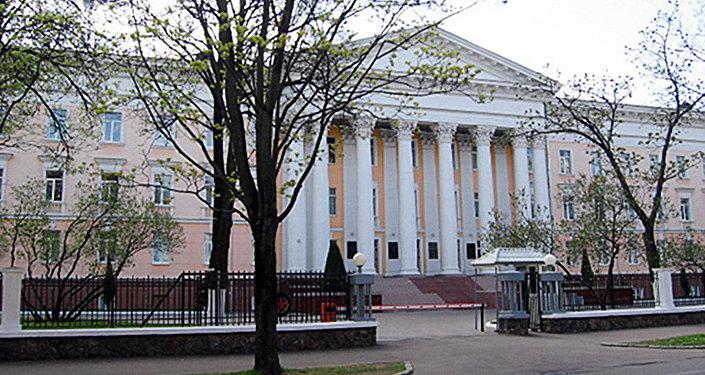 Здание министерства обороны Белоруссии