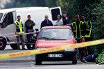 Полиция Испании осматривает место преступления