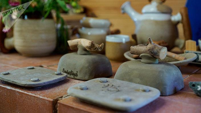 Керамика готова, осталось только обжечь в печи и нанести эмаль