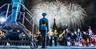Церемония открытия X Международного военно-музыкального фестиваля Спасская башня