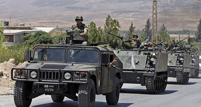 Libānas armijas karavīri. Foto no arhīva