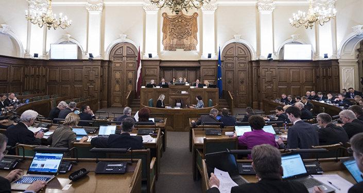 Заседание Сейма Латвии, архивное фото