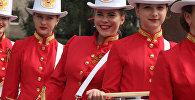 На празднование Дней города в Черняховске собрали самых симпатичных барабанщиц