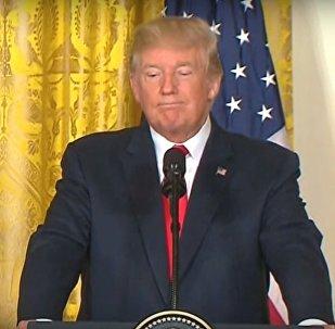 ASV prezidents Donalds Tramps