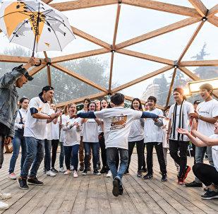 Мастер-класс Todes с участниками проекта Ты супер! Танцы