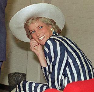 1988. gada 27. janvāris. Velsas princese Diāna apmeklē parku Footscray Melburnas piepilsētā