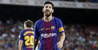 Нападающий ФК Барселона Лионель Месси, архивное фото