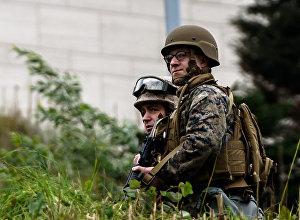 ASV jūras kājnieki militārās operācijas laikā