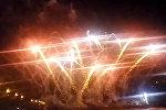 Выступление команды Латвии на чемпионате мира по фейеверкам