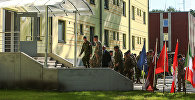 Новые казармы в Адажи для контингента НАТО