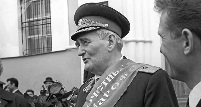 Командир 201-й латышской стрелковой дивизии в годы Великой Отечественной войны Ян Янович Вейкин