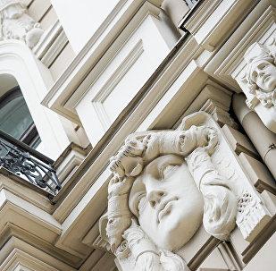 Фасад дома архитектора Михаила Эйзенштейна