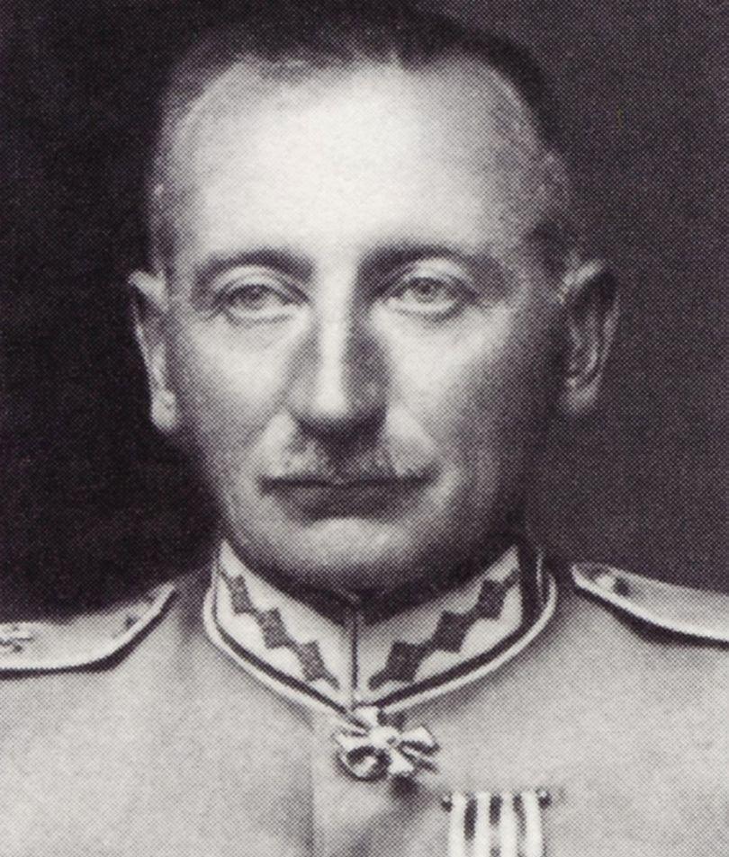 Генерал латвийской армии с 1924 по 1928 год Петр Радзинь