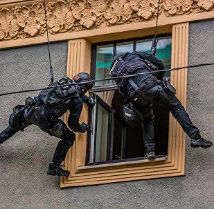 Valsts policijas pretterorisma vienības OMEGA mācības