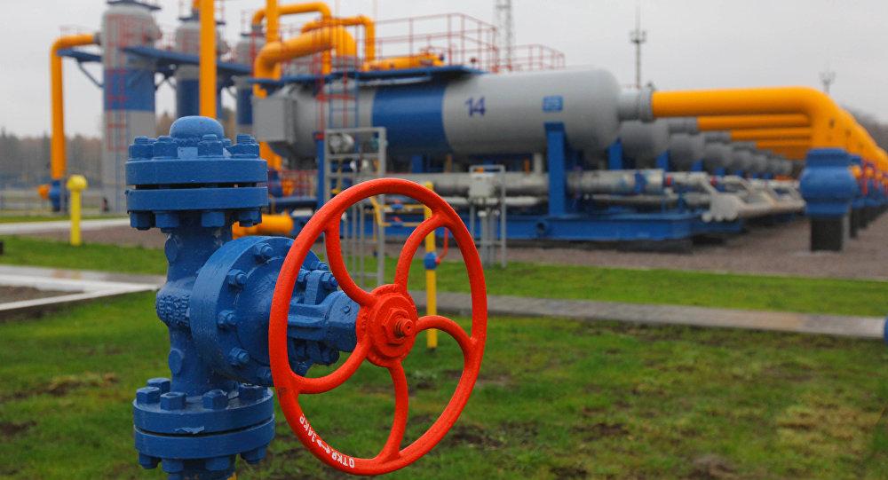 Магистральный газопровод, архивное фото