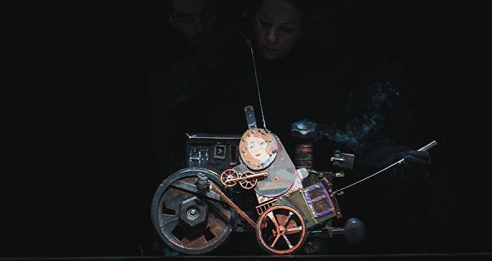 Открытие мультимедийного проекта Резо Габриадзе Необыкновенная выставка
