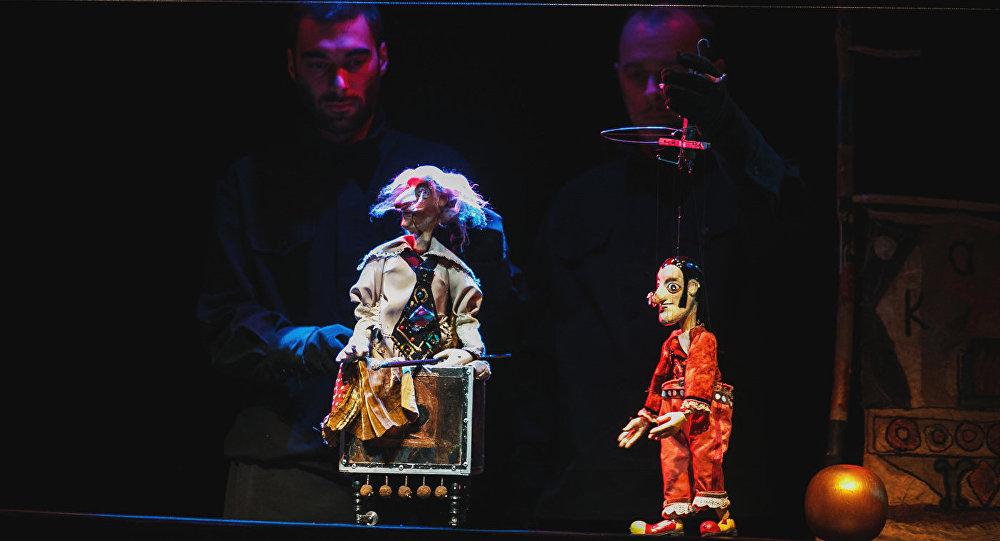 Marionetes. Foto no arhīva.