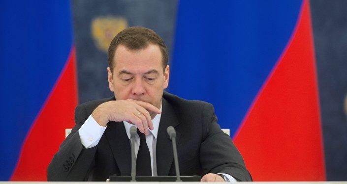 Dmitrijs Medvedevs. Foto no arhīva