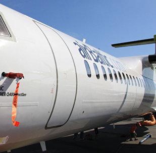 Самолет Bombardier Q400 компании Airbaltic