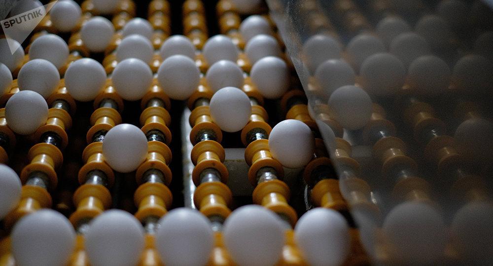 Линия сортировки яиц