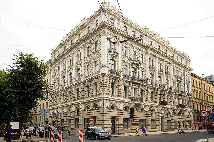 Дом архитектора Михаила Эйзенштейна по адресу ул. Элизабетес 33