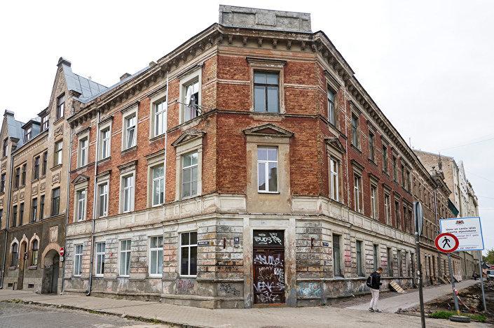 Дом архитектора Михаила Эйзенштейна по адресу ул. Стрелниеку 19