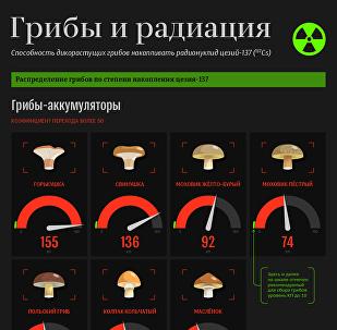 Грибы и радиация