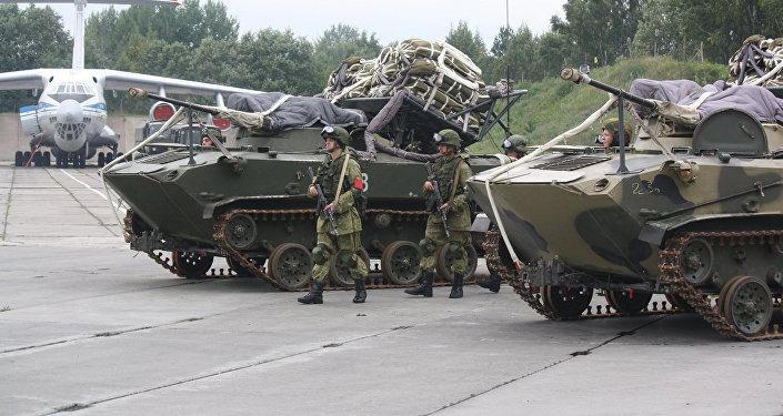 Подразделения ПВО Западного военного округа во время учений Запад-2017