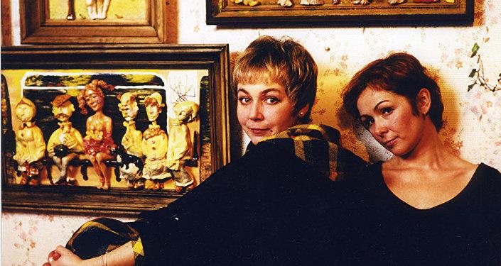 Ирина Серова и Татьяна Аугшкап