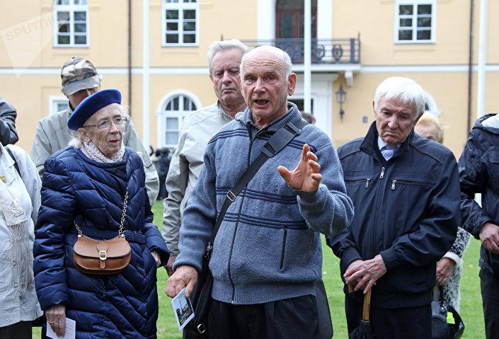 Станислав Разумовский, организатор памятного мероприятия