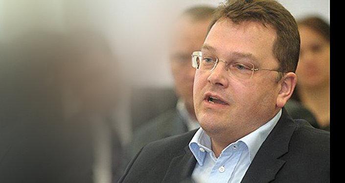 Latvijas baņķieris Ģirts Rungainis