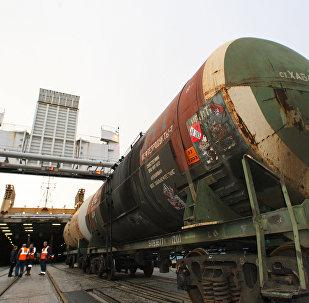 Железнодорожный паром Petersburg отправляется в первый регулярный рейс из Балтийска в Усть-Лугу
