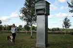 Памятник латышским легионерам Кристапса Гулбиса