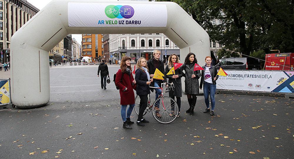 Москва примет участие вакции «Наработу навелосипеде»