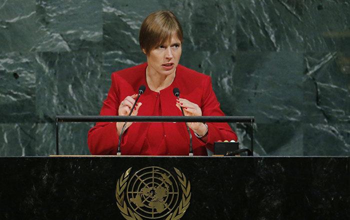 Президент Эстонской Республики Керсти Кальюлайд на 72-й Генеральной Ассамблеей ООН