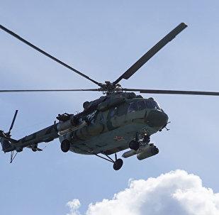 Вертолет Ми-8 ВВС Белоруссии