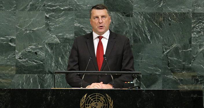 Latvijas prezidents Raimonds Vējonis ANO 72. Ģenerālā asamblejā
