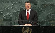 Президент Латвии Раймондс Вейонис на 72-й Генеральной Ассамблее ООН