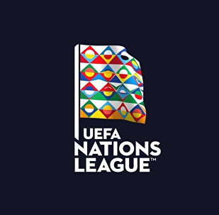 Символика нового футбольного европейского турнира - Лиги наций УЕФА