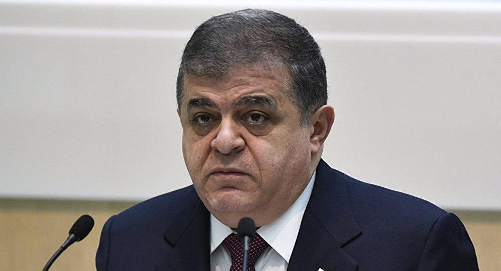 Владимир Джабаров, первый заместитель председателя Комитета по международным делам Совета Федерации России