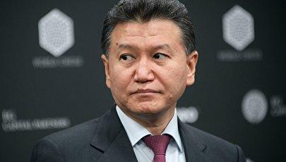 Президент Международной шахматной федерации  Кирсан Илюмжинов
