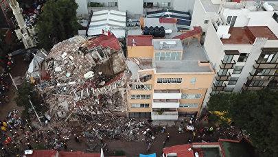 Meksika pēc stihijas uzbrukuma. Upuru skaits pieaug